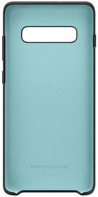 Чехол Samsung Silicone Cover Black для Galaxy S10+ G975 3