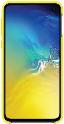 Чехол Samsung Silicone Cover Yellow для Galaxy S10e G970 2