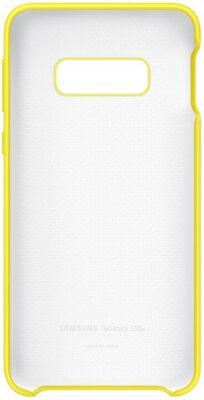 Чехол Samsung Silicone Cover Yellow для Galaxy S10e G970 3