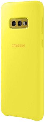 Чехол Samsung Silicone Cover Yellow для Galaxy S10e G970 4
