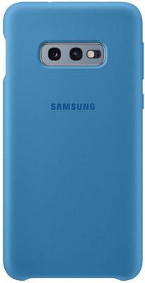 Чехол Samsung Silicone Cover Blue для Galaxy S10e G970 1