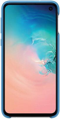 Чехол Samsung Silicone Cover Blue для Galaxy S10e G970 2