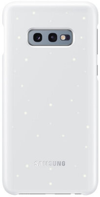 Чехол Samsung LED Cover White для Galaxy S10e G970 1