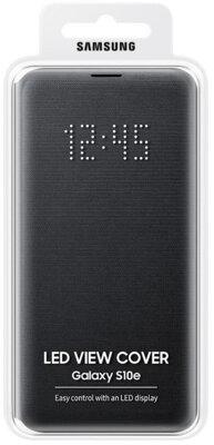 Чехол Samsung LED View Cover Black для Galaxy S10e G970 6