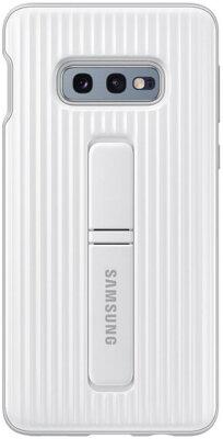Чехол Samsung Protective Standing Cover White для Galaxy S10e G970 1