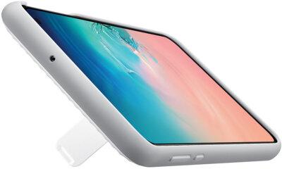 Чехол Samsung Protective Standing Cover White для Galaxy S10e G970 7