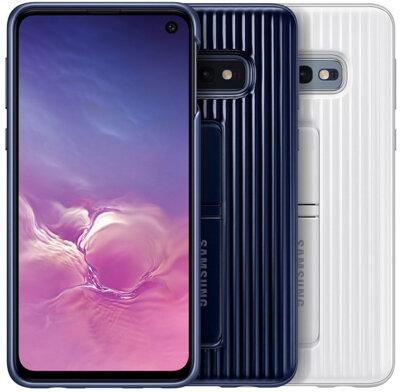Чехол Samsung Protective Standing Cover White для Galaxy S10e G970 8