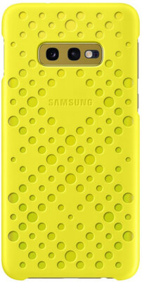 Чохол Samsung Pattern Cover White Yellow для Galaxy S10e G970 1