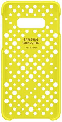 Чохол Samsung Pattern Cover White Yellow для Galaxy S10e G970 3