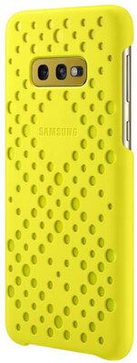 Чохол Samsung Pattern Cover White Yellow для Galaxy S10e G970 5