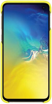 Чохол Samsung Pattern Cover White Yellow для Galaxy S10e G970 7