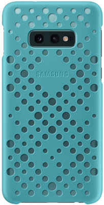 Чохол Samsung Pattern Cover Black Green для Galaxy S10e G970 2