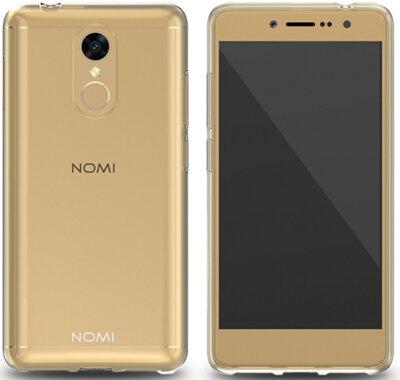 Чохол Nomi Ultra Thin TPU UTCi5050 Gold 2