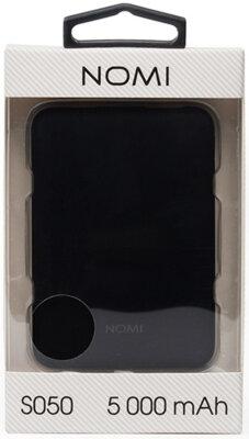 Мобільна батарея Nomi S050 5000mAh Black 6