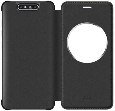 Чехол ZTE Blade V8 Smart Cover Black 1