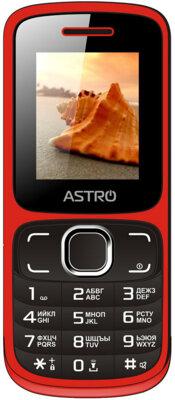 Мобильный телефон ASTRO A177 Red/Black 1
