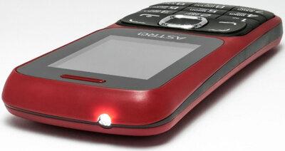 Мобильный телефон ASTRO A177 Red/Black 4