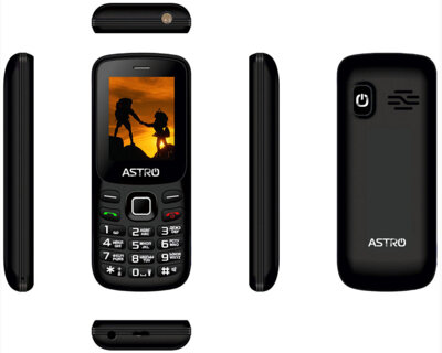 Мобільний телефон ASTRO A173 Black 3