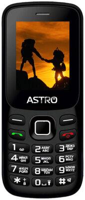 Мобільний телефон ASTRO A173 Black/Red 1