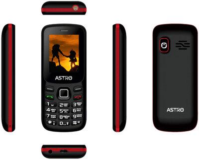 Мобільний телефон ASTRO A173 Black/Red 3