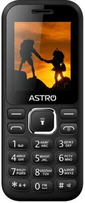 Мобильный телефон ASTRO A174 Black 1