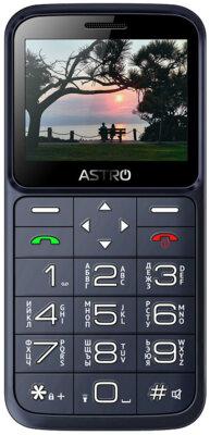 Мобильный телефон ASTRO A186 Navy 1