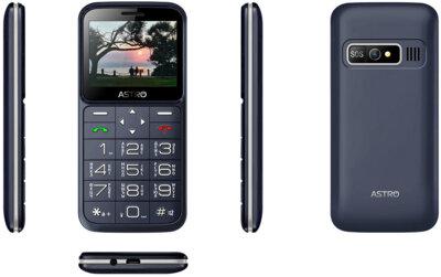 Мобильный телефон ASTRO A186 Navy 3
