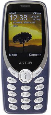 Мобильный телефон ASTRO A188 Navy 1