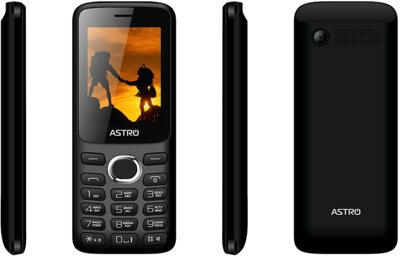 Мобильный телефон ASTRO A246 Black 3