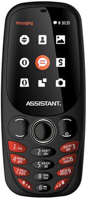 Мобільний телефон Assistant AS-201 Black 1