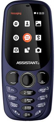 Мобильный телефон Assistant AS-201 Blue 1