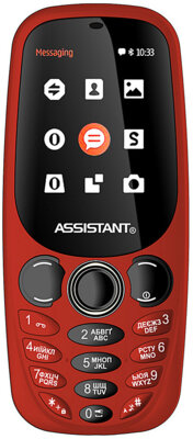 Мобильный телефон Assistant AS-201 Red 1