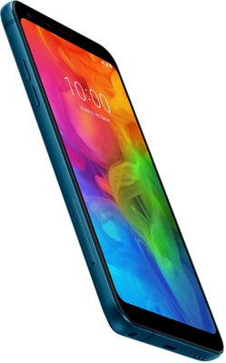 Смартфон LG Q7+ 4/64GB Q610NA Morocсan Blue 10