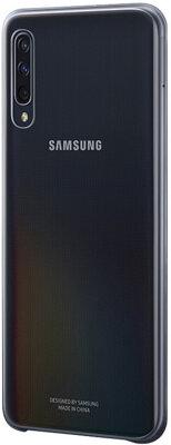 Чехол Samsung Gradation Cover Black для Galaxy A50 A505F 3