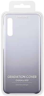 Чехол Samsung Gradation Cover Black для Galaxy A50 A505F 5