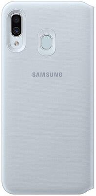 Чехол Samsung Wallet Cover White для Galaxy A30 A305F 1