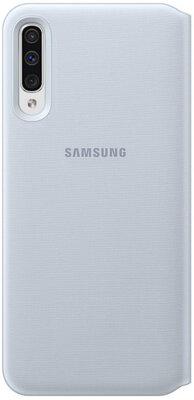 Чехол Samsung Wallet Cover White для Galaxy A50 A505F 1