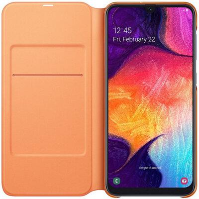 Чехол Samsung Wallet Cover White для Galaxy A50 A505F 4