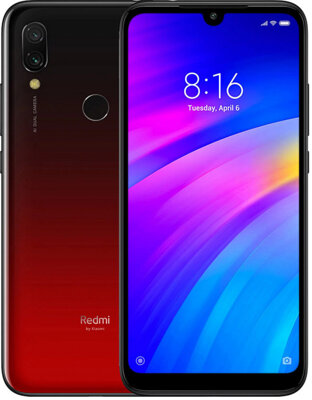 Смартфон Xiaomi Redmi 7 3/64GB Lunar Red 2