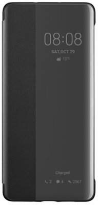 Чохол Huawei P30 Pro Smart View Flip Cover Black 1