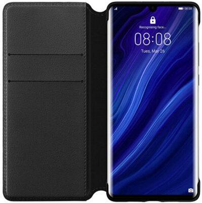 Чехол Huawei P30 Pro Wallet Cover Black 3