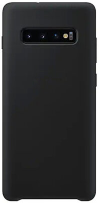 Чехол Intaleo Velvet для Samsung Galaxy S10+ G975 Black 1