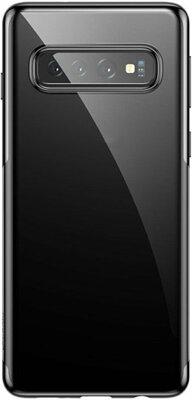 Чохол Intaleo Real Glass для Samsung Galaxy S10 G973 Black 1