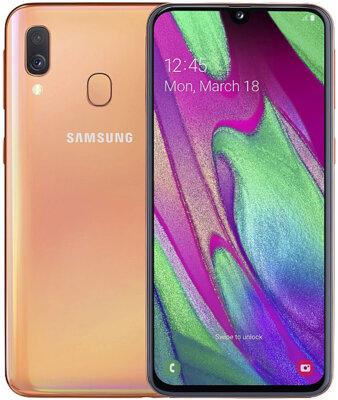 Смартфон Samsung Galaxy A40 64GB SM-A405F Red 3