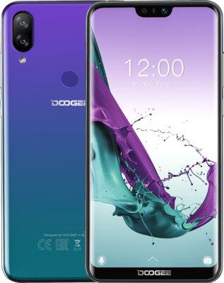 Смартфон Doogee Y7 Aurora Blue 3