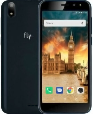 Смартфон Fly Life Compact Dark Blue 3