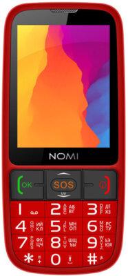 Мобильный телефон Nomi i281+ Red 1