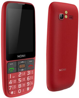 Мобильный телефон Nomi i281+ Red 10
