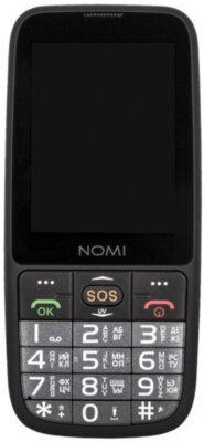 Мобільний телефон Nomi i281+ Black 1