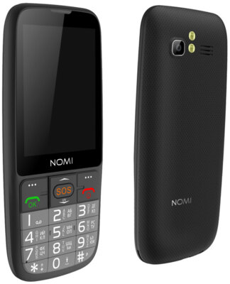 Мобільний телефон Nomi i281+ Black 2